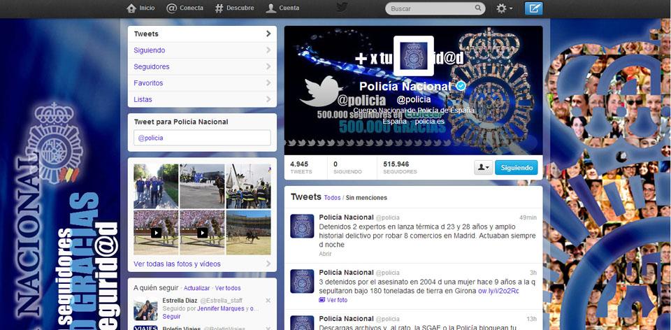 @Policia: un ejemplo de comunicación en redes sociales