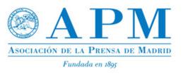 logotipo de la Asociación de la Prensa de Madrid