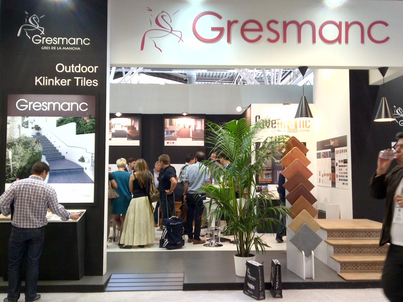 Stand de Gresman en Cersaie