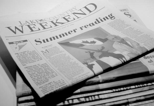 imagen de periódicos