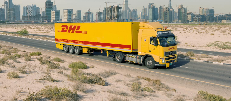 Camión de DHL Freight