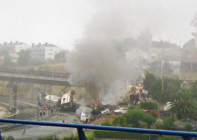 Accidente ferroviario de Santiago de Compostela