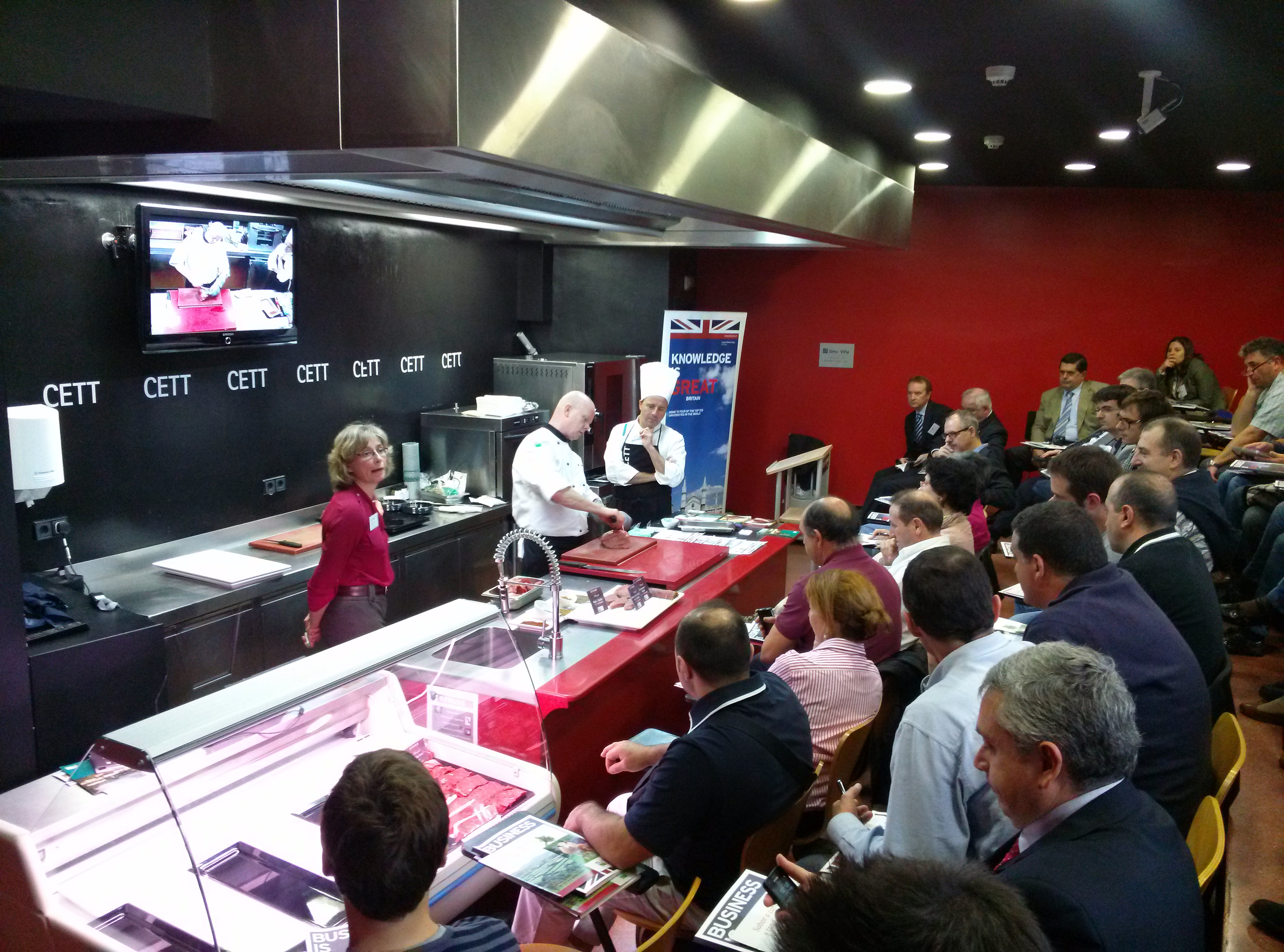 Presentación de EBLEX en Barcelona