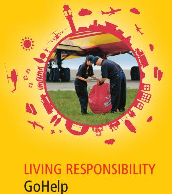 Gohelp. Programa de ayuda de DHL en desastres