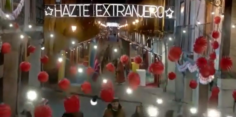 Fotograma de la Campaña #hazteextranjero de Campofrío