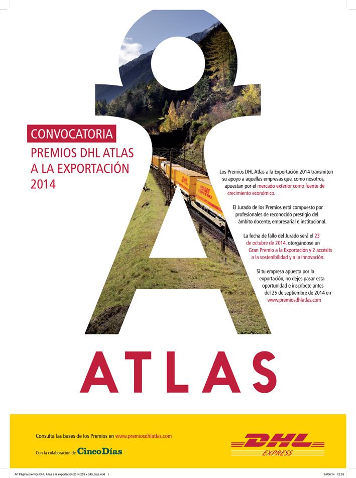 Convocatoria Premios Atlas