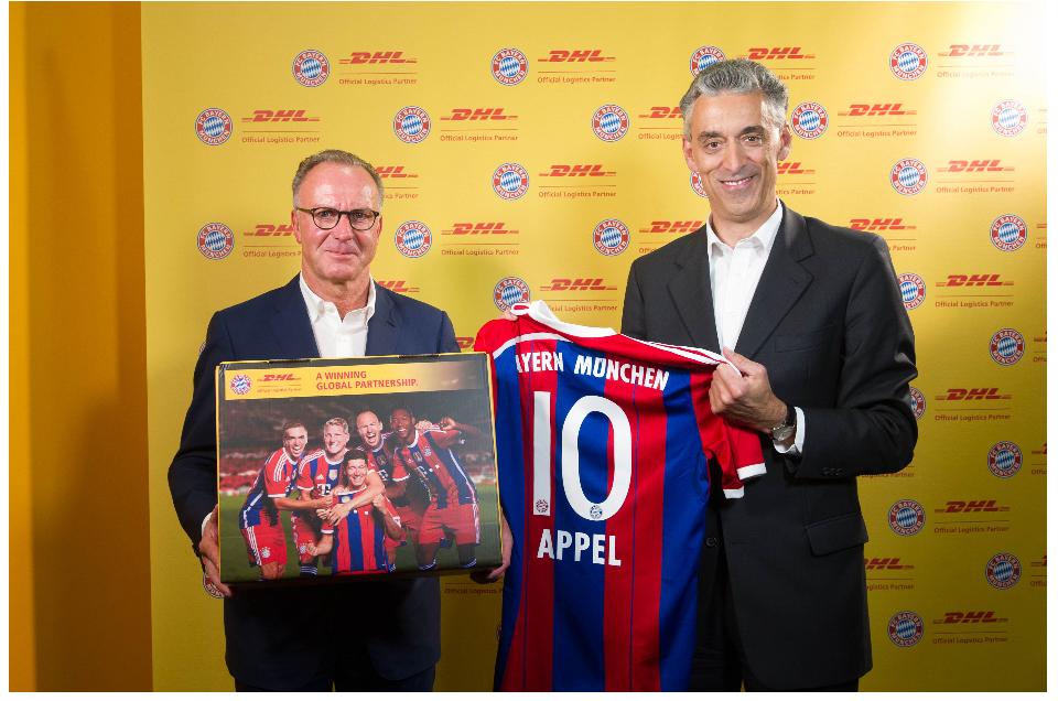 Acuerdo entre DHL y Bayern Munich