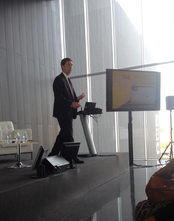 Conferencia de DHL en Invexport