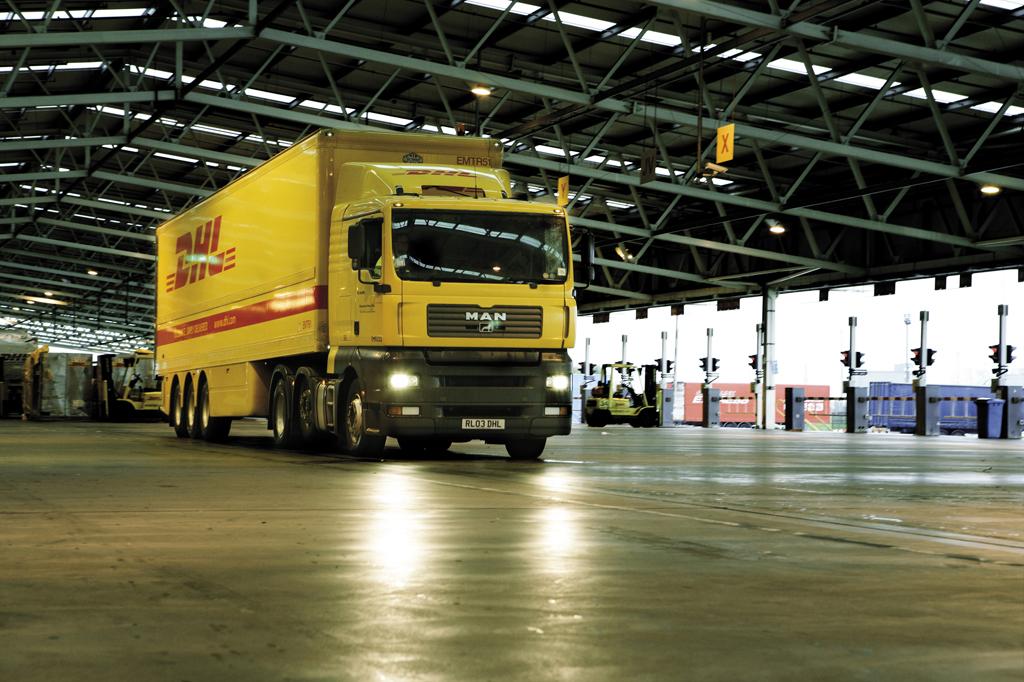 DHL Freight transporte terrestre