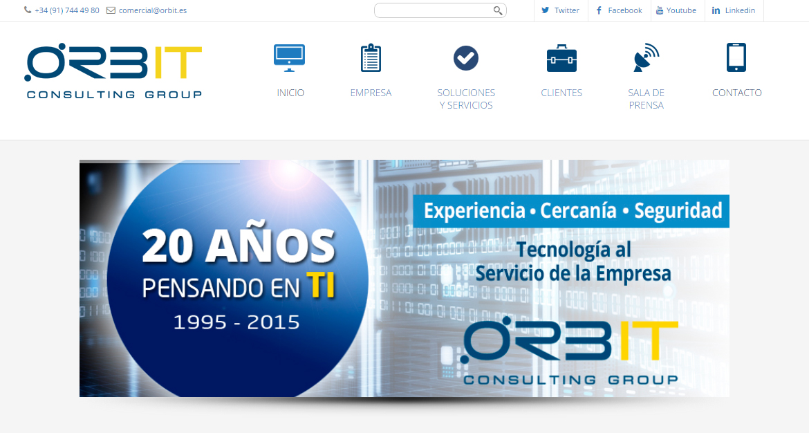 Web Orbit actualizada