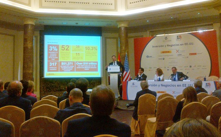 Intervención de DHL en el evento Inversión y Negocios en EEUU