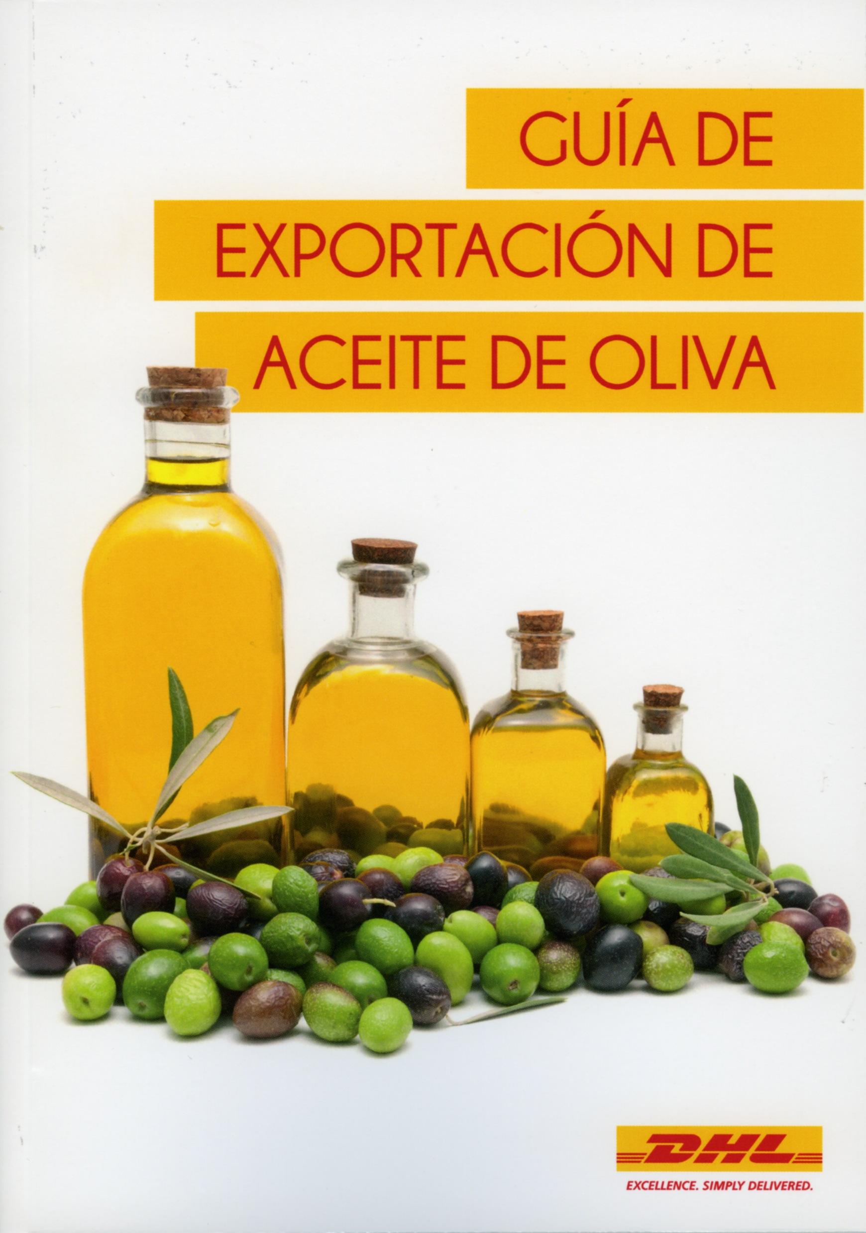 Portada Guía de Exportación de Aceite de Oliva