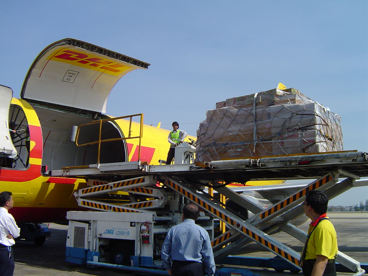 DHL proporciona ayuda logística a Nepal