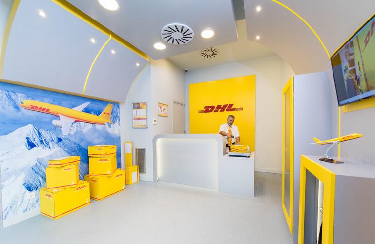 Nuevo punto de venta de DHL en Barcelona