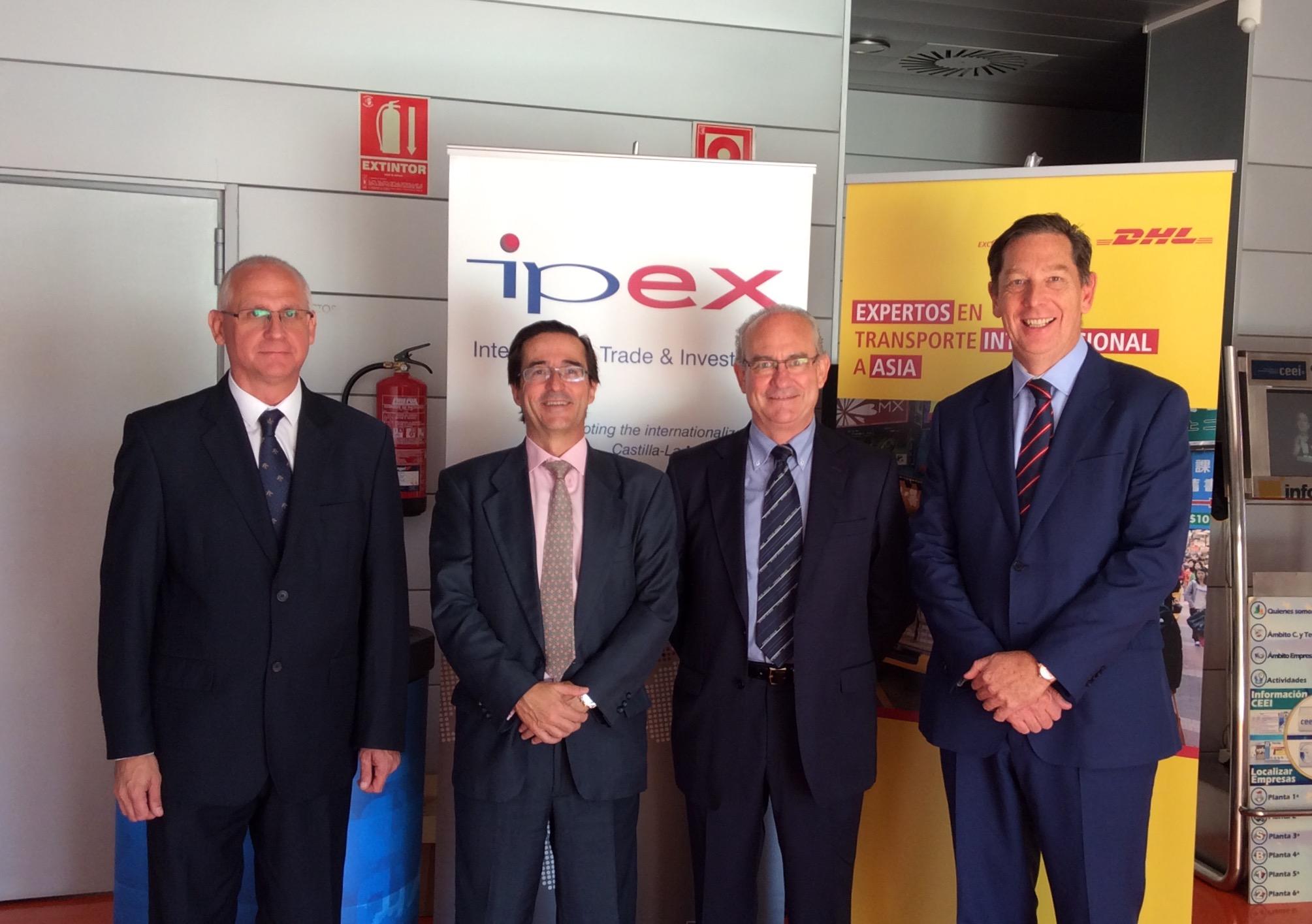 Jornada de Exportación del IPEX y DHL en Albacete