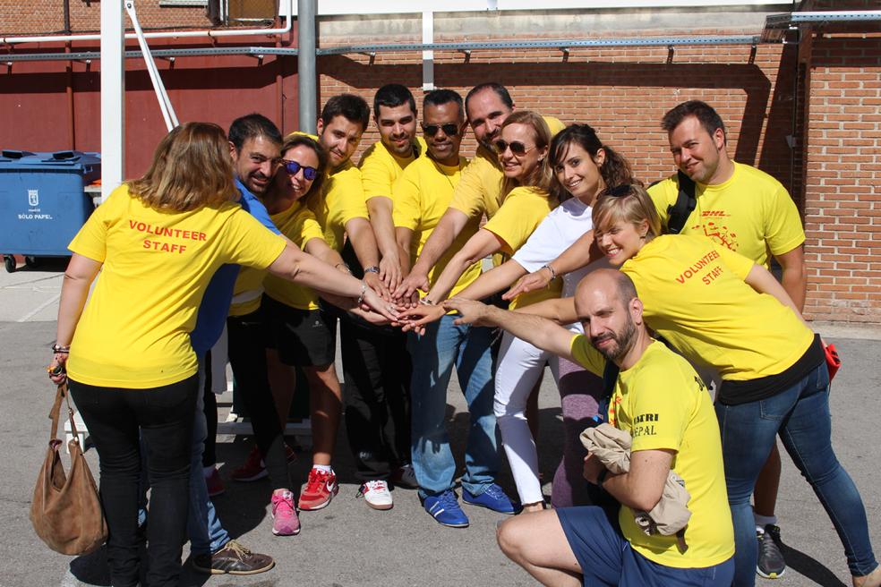 Voluntarios de DHL