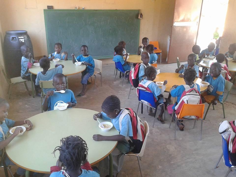 Escuela Infantil del proyecto Laovo Cande