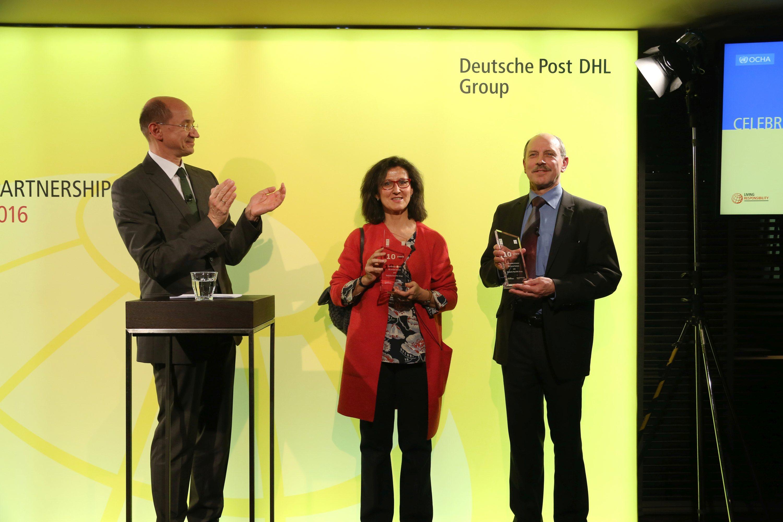 10 años de acuerdo entre DPDHL y la ONU