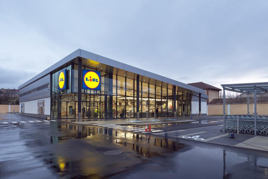 Supermercado de Lidl en Burgos, finalizado por INBISA