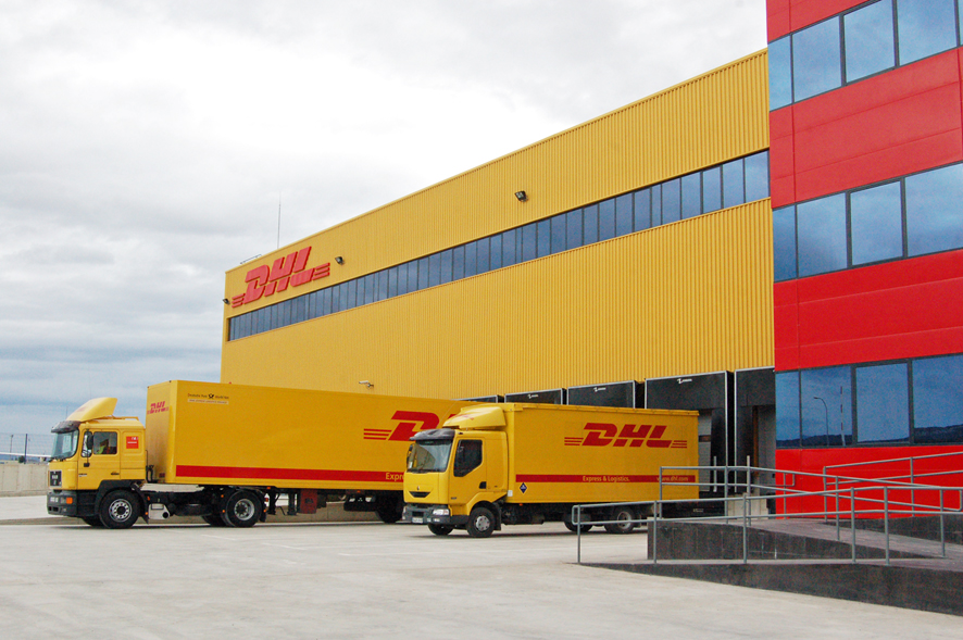 Instalaciones DHL en Foronda