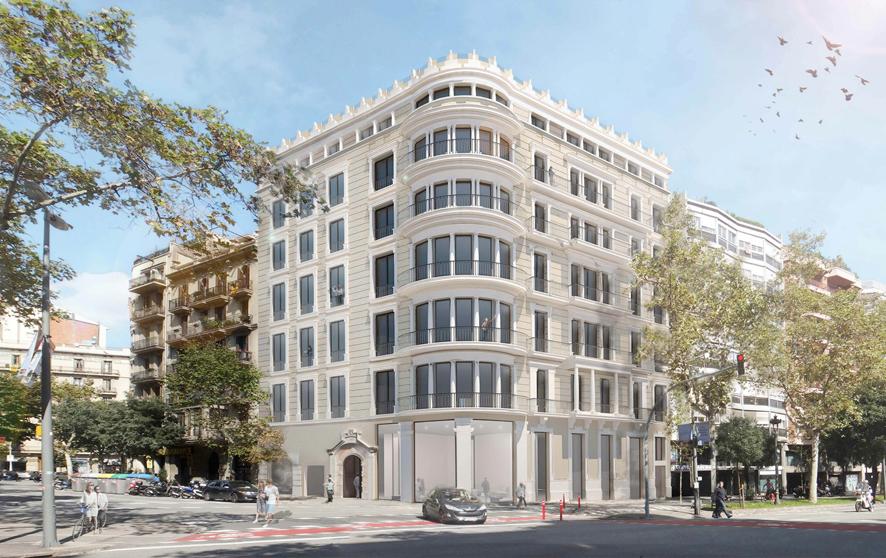 Proyecto del Hotel Diagonal 414 de Inbisa para Barceló