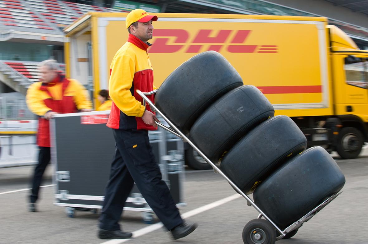 Logística de DHL para la F1