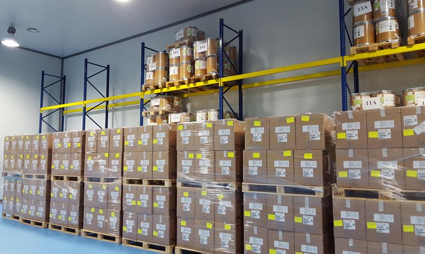 Cámara de temperatura controlada de DHL Freight