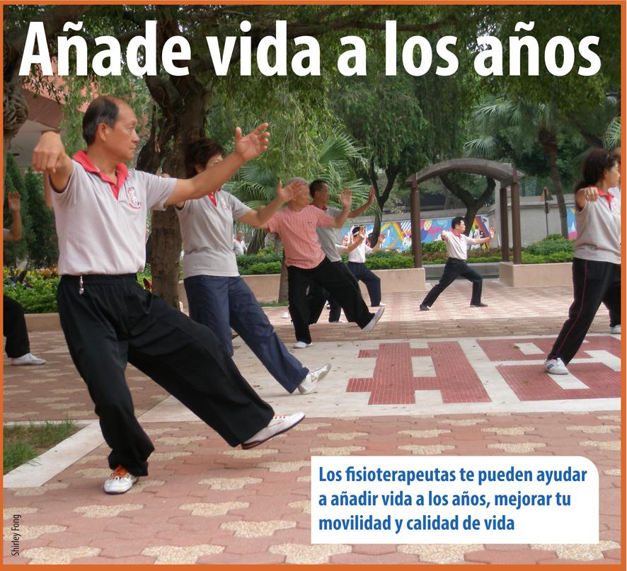 """Campaña """"Añade Vida a los Años"""", de la WCPT"""