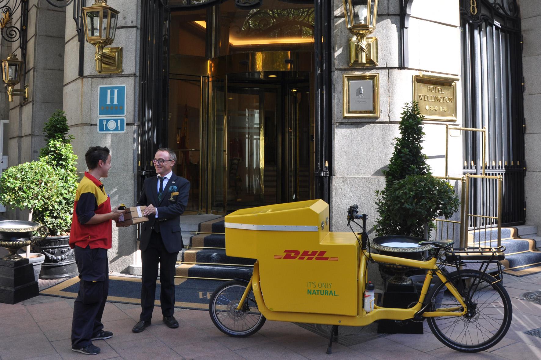 Bicicleta eléctrica de DHL