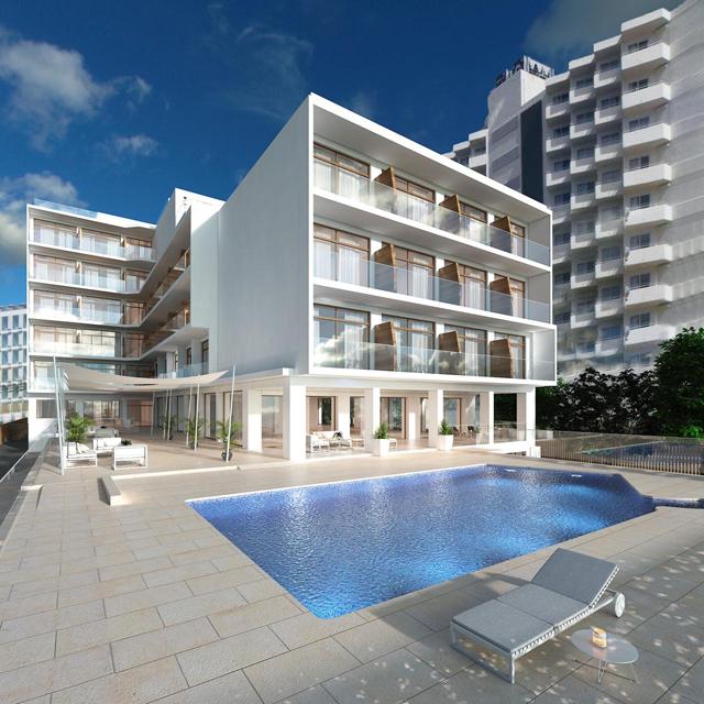 Proyecto de rehabilitación del Hotel Riviera de Palma de Mallorca