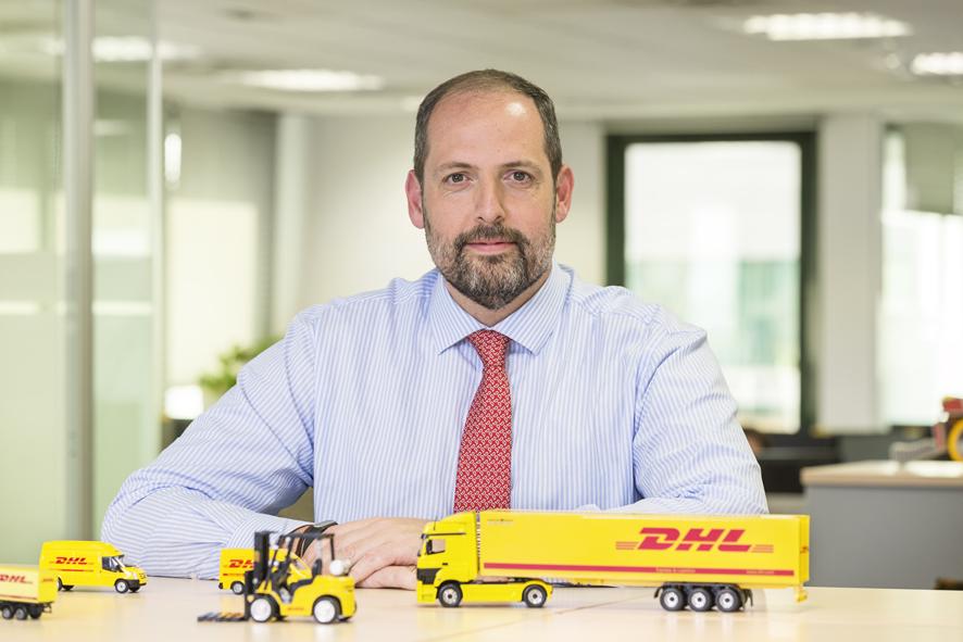 Daniel Pastrana. Product Manager B2C de DHL Parcel Iberia