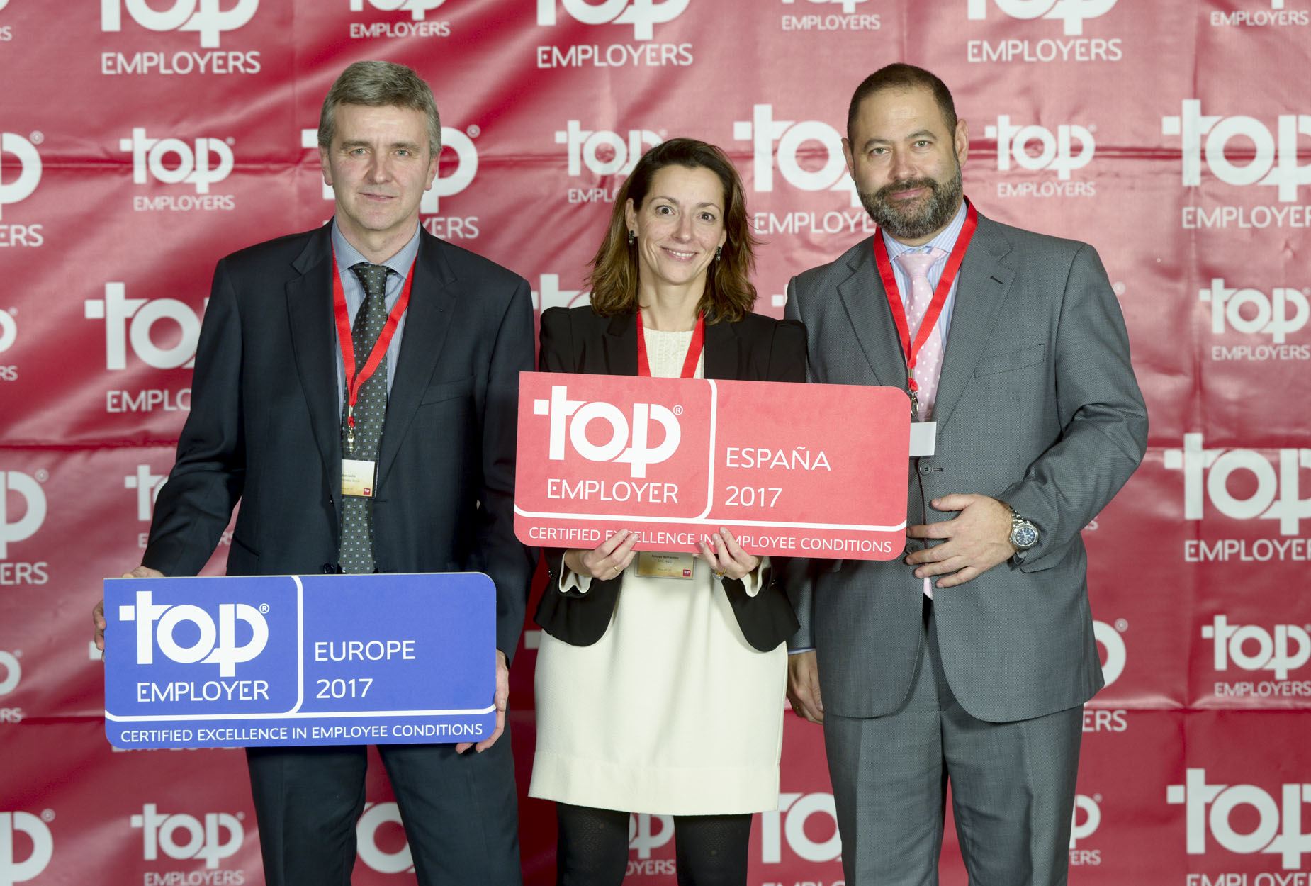 Entrega de Premios Top Employers a DHL