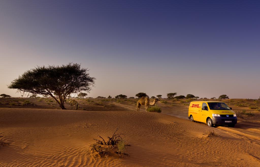 Patrocinio DHL Titán Desert