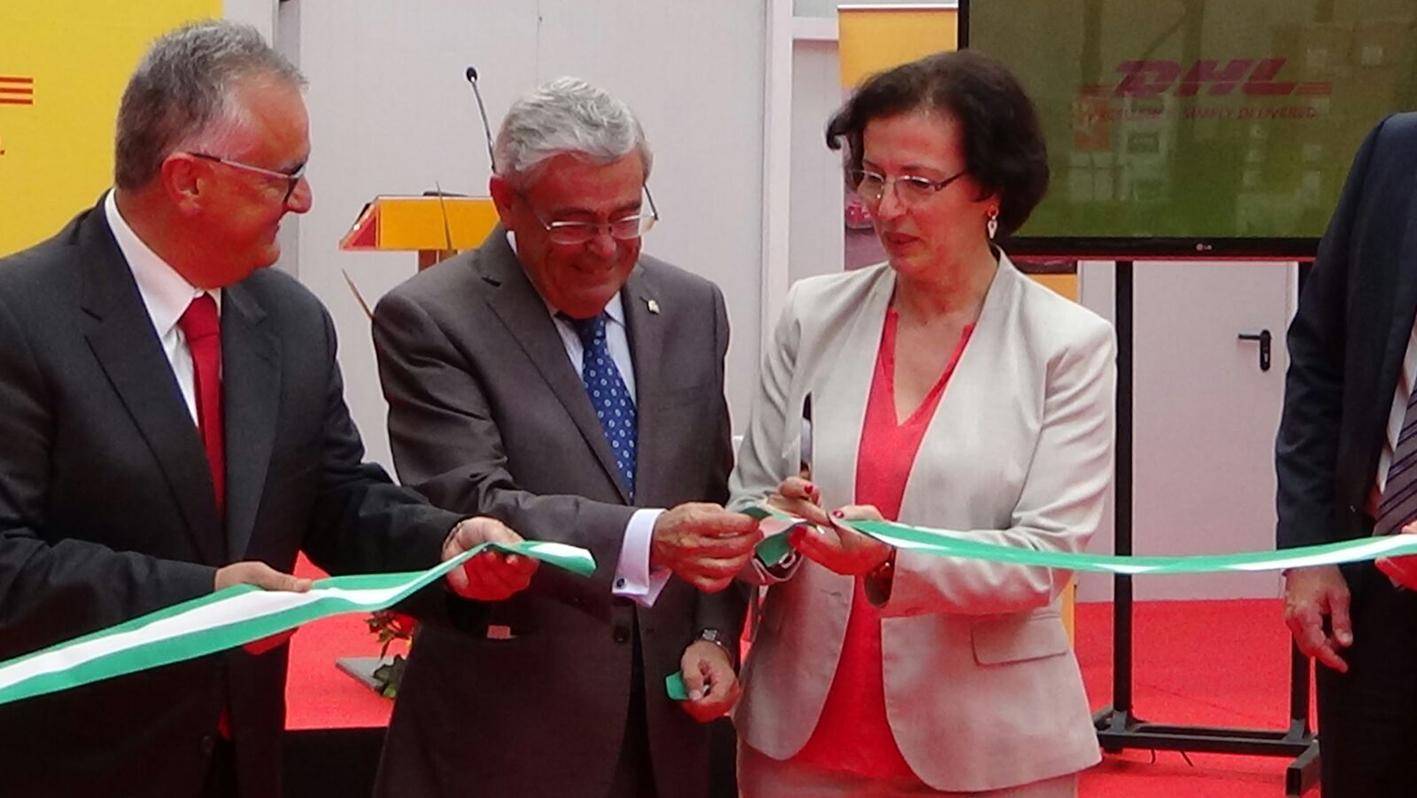 Inauguración DHL Almería