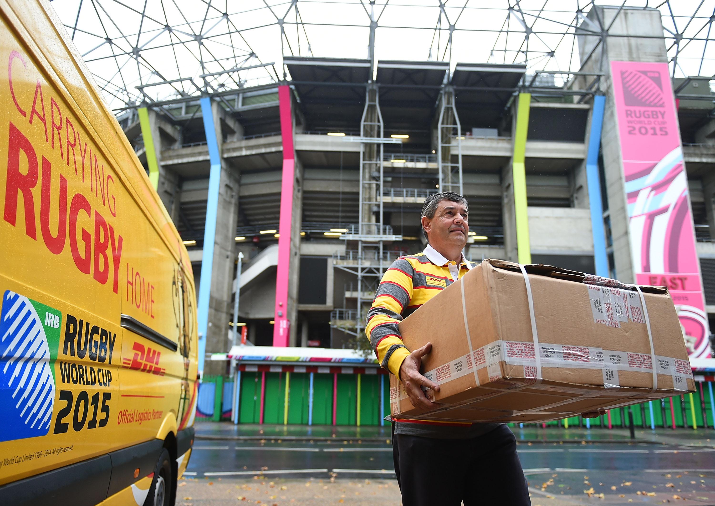 DHL Socio Logístico Oficial de la Copa Mundial de Rugby 2019