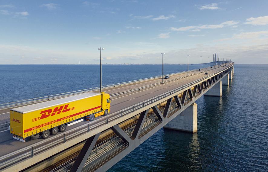 Camión DHL Freight
