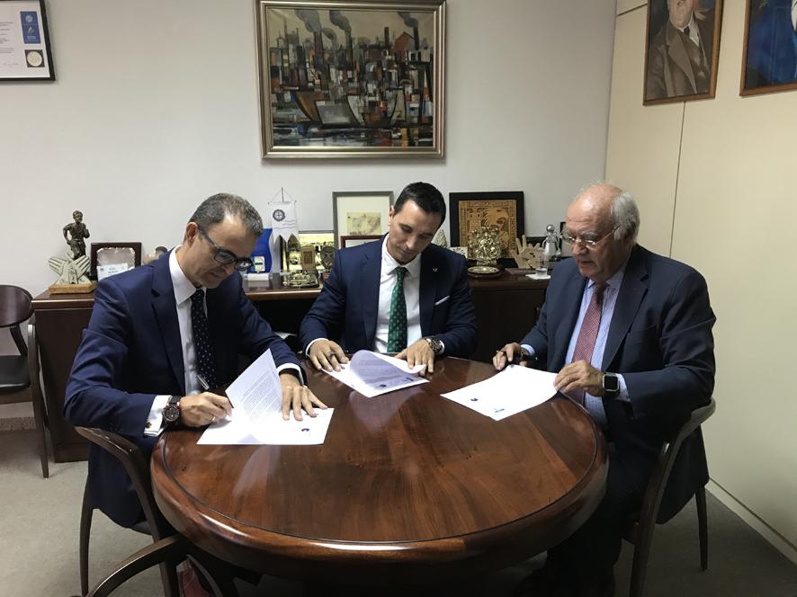 Firma convenio CGCFE