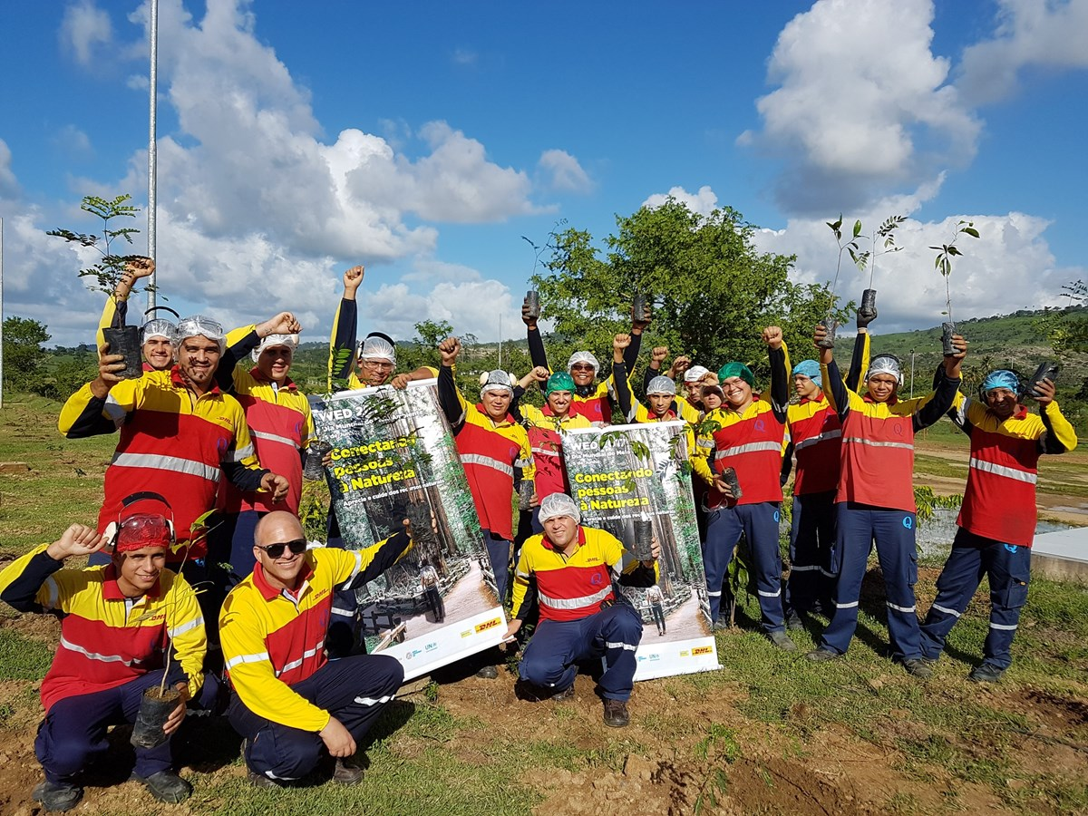 Día Mundial del Voluntariado Deutsche Post DHL Group