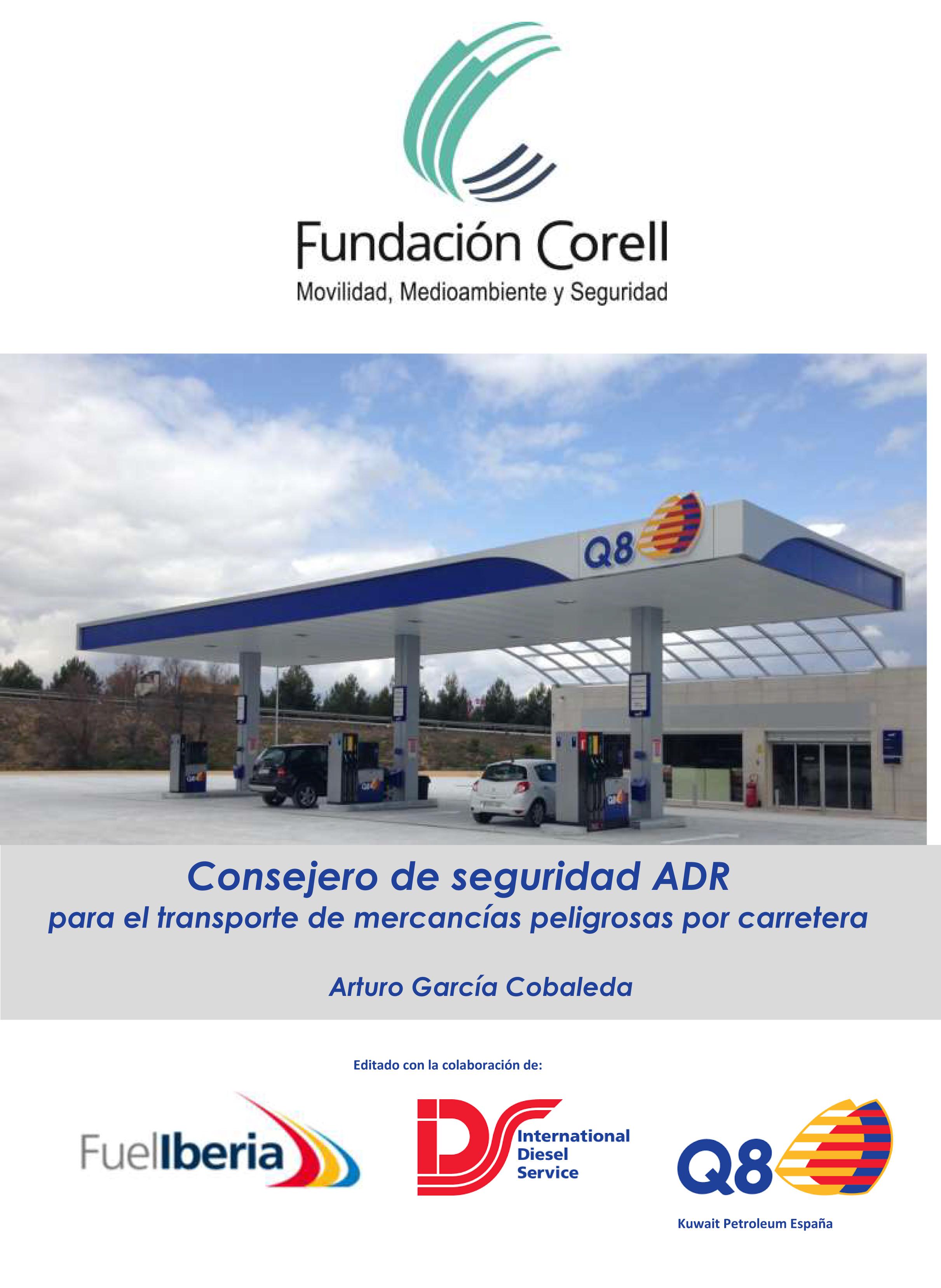 Portada Libro Consejero de Seguridad ADR de la Fundación Corell