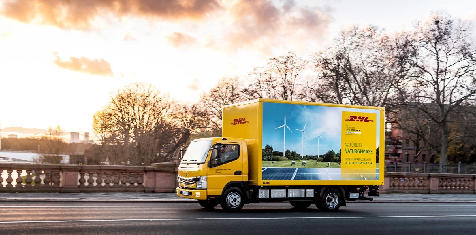 Camiones eléctricos Daimler FUSO eCanter para DHL Freight