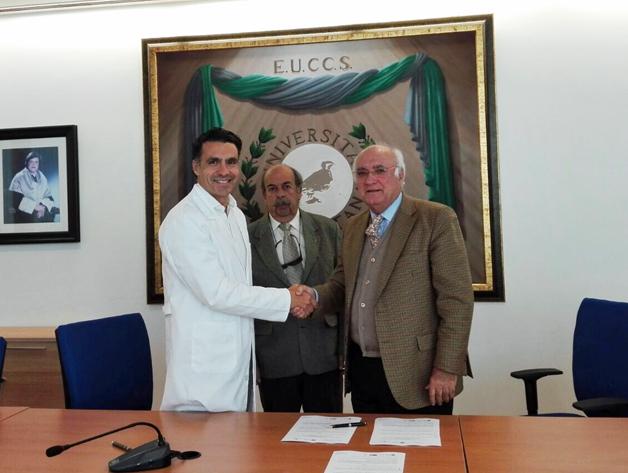 Firma del acuerdo para la creación del Informe sobre Calidad Asistencial en Fisioterapia del CGCFE