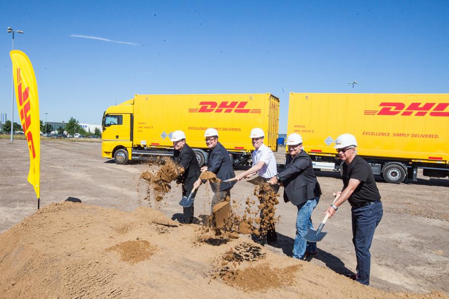 Inicio de la construcción del nuevo centro de carga de DHL Freight en Hannover