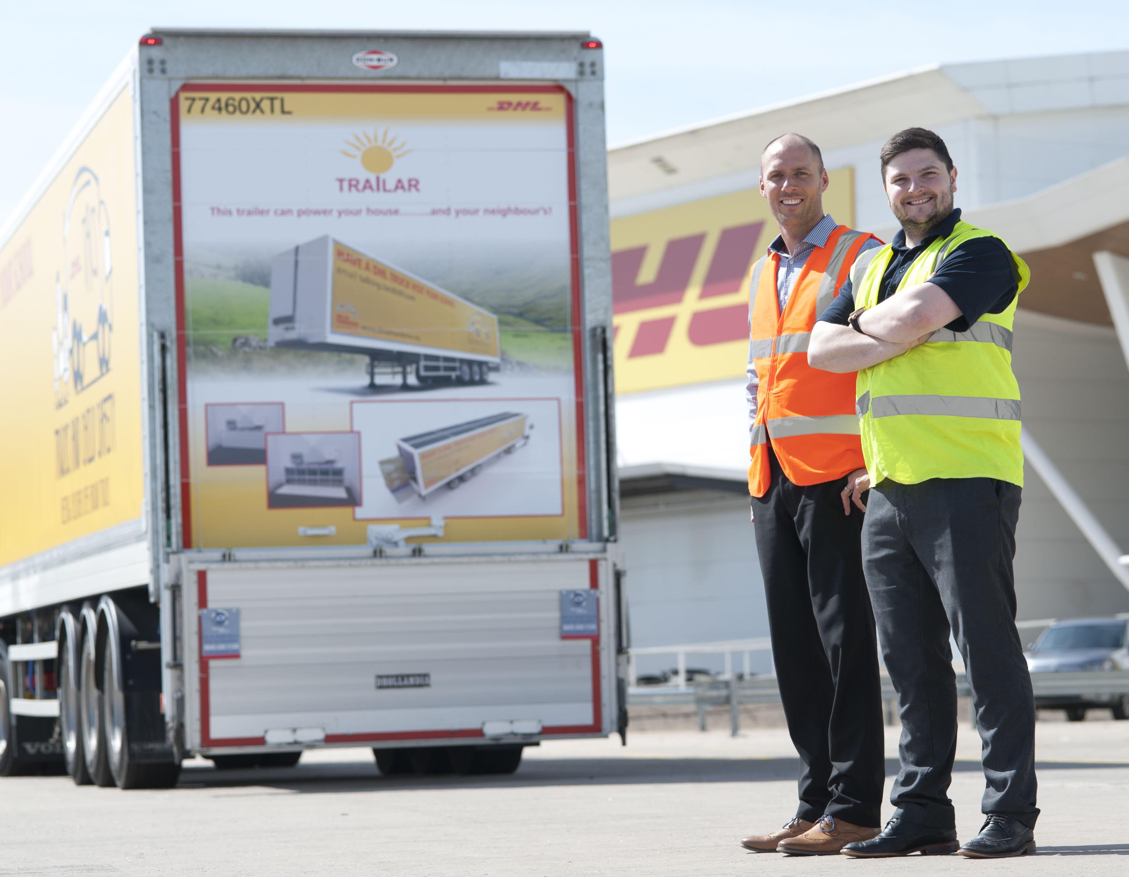 TRAILAR, sistema de energía solar para camiones Deutsche Post DHL