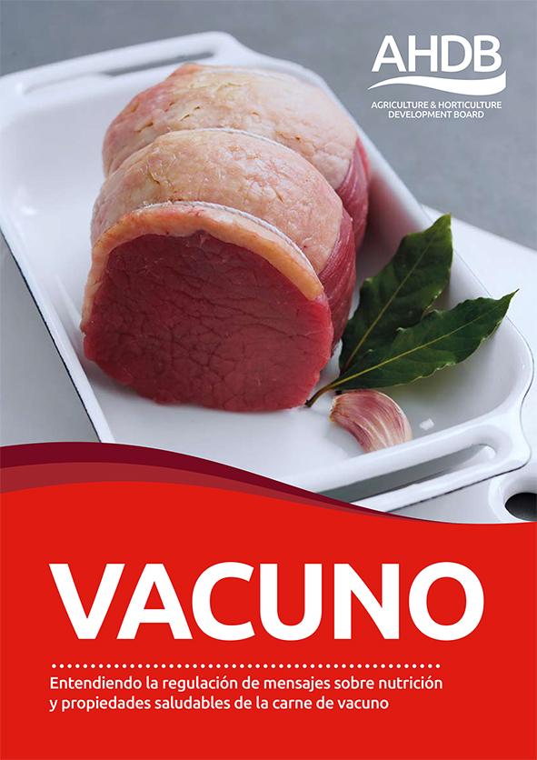 guia nutricional vacuno AHDB