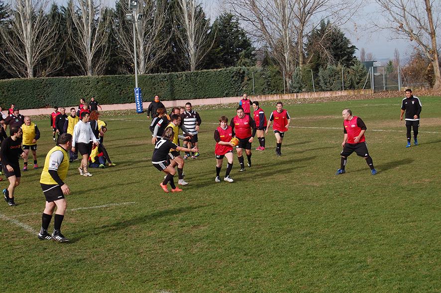 DHL Patrocina un partido de rugby inclusivo en Valladolid
