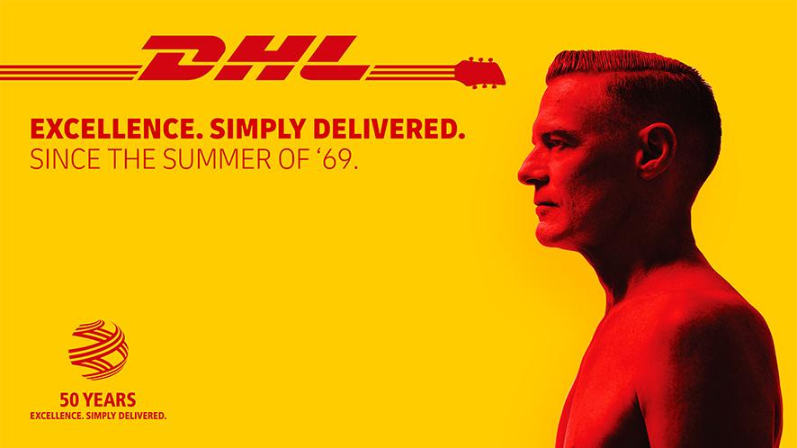 DHL proveedor oficial de la gira de Bryan Adams 2019