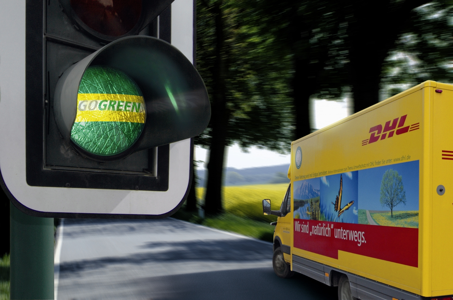 DHL Freight Go Green