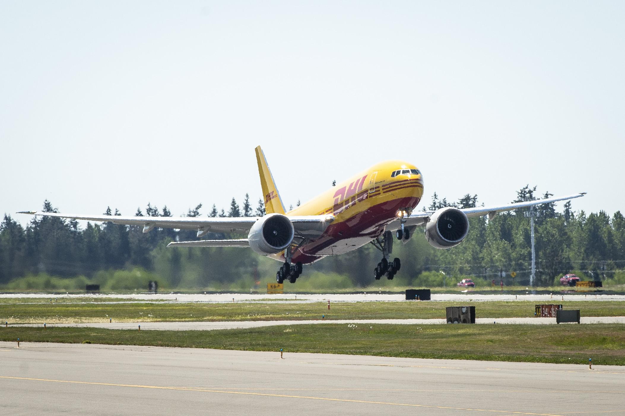 Carguero Boeing 777 de DHL