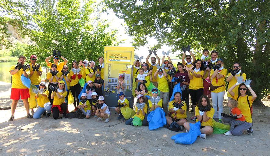 Voluntarios de DHL participan en el proyecto Libera