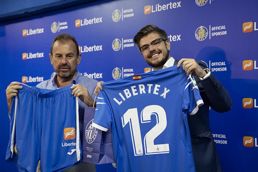 Acuerdo de patrocinio Libertex y Getafe CF